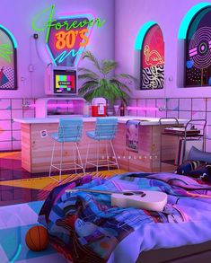 Denny Busyet Dreamlike Artwork Inspired by Aesthetic Nostalgia Fueled by Synthwave. Stay Retro Stay RAD # Forever Photographic Print by dennybusyet Collage Mural, Bedroom Wall Collage, Photo Wall Collage, Picture Wall, Picture Collages, Neon Aesthetic, Aesthetic Room Decor, Aesthetic Collage, Aesthetic Vintage