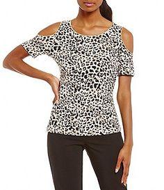 6834ea65ffe6f9 animal print  Women s Casual   Dressy Tops   Blouses