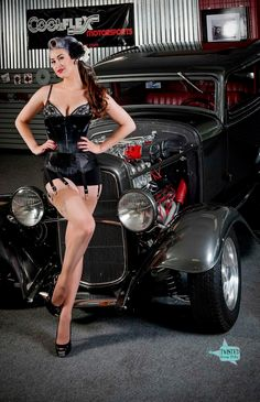 Pin Ups,hot Rods,and Old School Cool