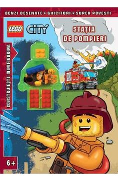 Lego City – Statia de pompieri Religious Books, Find People, Christmas Gifts For Kids, Lego City, Book Crafts, Book Collection, Book Activities, Textbook, Fire