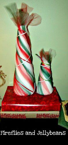 Tulle Twist Christmas Trees Tutorial