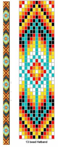 I am going to try using the Herringbone stitch to get the similar … Loom pattern. I am going to try using the Herringbone stitch to get the similar effect. Will come back to comment. Beading Patterns Free, Seed Bead Patterns, Weaving Patterns, Beading Tutorials, Beading Techniques, Knitting Patterns, Free Pattern, Beading Ideas, Quilt Pattern