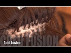 Relaxing african american hair while wearing fusion hair how to cold fusion hair extensions no glue video pmusecretfo Image collections