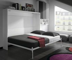 quelques solutions pour am nager vos petits espaces lit escamotable et lit rabattable. Black Bedroom Furniture Sets. Home Design Ideas
