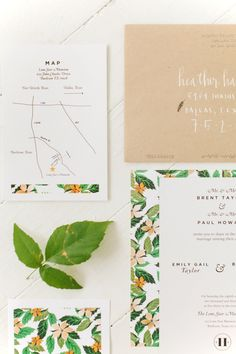garden #invitations by http://foundryco.com that so perfectly match the wedding day florals | Photography: Heather Hawkins Photography - heatherhawkinsphoto.com