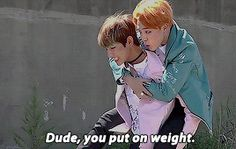 And that is amazing! I like chubby Jimin. One it's adorable. Two he isn't obsessing over body image which I love! <3