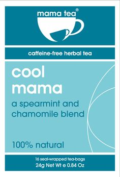 If you're suffering from heartburn, drink Mama Tea's Cool Mama herbal tea, a blend of spearmint and chamomile to cool and calm. Worth a try. Spearmint Tea, Reflux Symptoms, My Cup Of Tea, How To Make Tea, Heartburn, Herbal Tea, Herbalism, The Cure, Cool Stuff