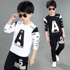 $42.42 (Buy here: https://alitems.com/g/1e8d114494ebda23ff8b16525dc3e8/?i=5&ulp=https%3A%2F%2Fwww.aliexpress.com%2Fitem%2FAutumn-Boys-Clothing-Set-kids-Sports-Suit-Children-Tracksuit-Boy-Long-Shirt-Pants-2PCS-Set-Sweatshirt%2F32719850198.html ) Autumn Boys Clothing Set kids Sports Suit Children Tracksuit Boy Long Shirt+Pants 2PCS/Set Sweatshirt Casual Child Clothes Sets for just $42.42