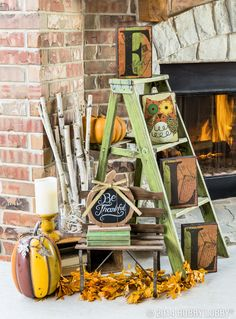 It may still feel like summer outside, but we're itching to decorate for fall! Pumpkins, cozy sweaters, and bright orange leaves...we can hardly wait!
