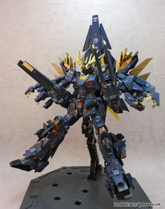 Custom Build: MG 1/100 RX-00 UNICORN GUNDAM 02P Perfect Banshee Gundam - Gundam Kits Collection News and Reviews