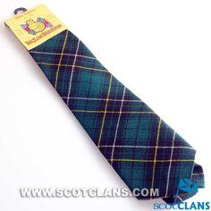 Clan MacAlpine Modern Tartan Tie