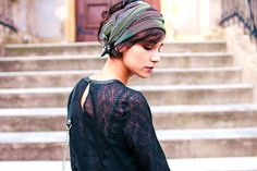 27 Head Scarf Wrap Styles Anyone Can Try