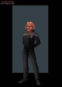 Lieutenant Nog - Star Trek:  Deep Space Nine by NightWing1975 @deviantART