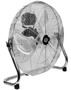"""Quality Prem-I-Air 18"""" (45 cm) High Velocity Air Circulator Fan with Chrome finish: Amazon.co.uk: Kitchen & Home"""