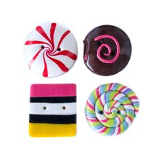 Candy Buttons by TinyPips on Etsy