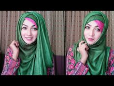 Easy Hack and trick to look gorgeous in simple Hijab Style | Pari ZaaD ❤ - YouTube
