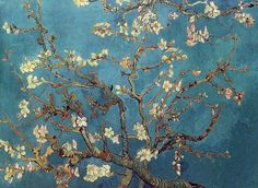 Van Gogh, tree branches,Japanese style. Three of my favorites, combined.