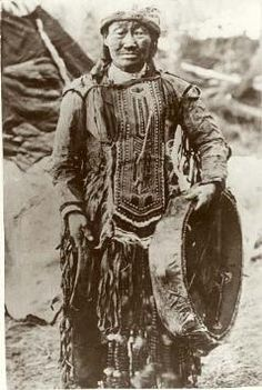 Shaman Khorolkan of the Kambaghir tribe of the Evenk, Siberia, ca. first quarter of the nineteenth century.