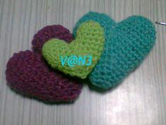 corazones x 3