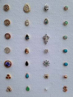 Beautiful BVLA studs (Mine is the opal in rose gold (top right) Adore!: