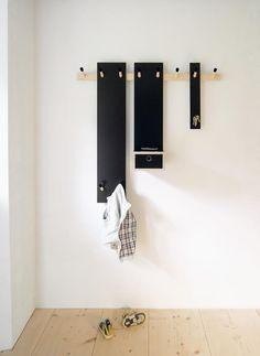 Rechenbeispiel hook rail 4 by Moormann Wall Storage, Storage Spaces, Garderobe Design, Cool Furniture, Furniture Design, Modular Wardrobes, Childrens Wardrobes, Cama Box, Coat Stands