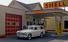 1965 122 (P220) Volvo Amazon, Station Wagon, Gas Station, Fuel Truck, Volvo Cars, Car Car, Car Show, Cars And Motorcycles, Vintage Cars