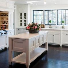 crownpoint cabinetry | Crown Point Cabinetry - kitchens - white kitchen, white cabinets ...