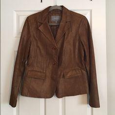 Women's suede jacket. Apt 9 Women's L 100% suede leather dress jacket. Apt. 9 Jackets & Coats
