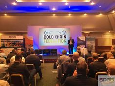 Part of the Cold Chain Federation and being headline sponsors, SCCG Director Gideon Hillman was chairing the Technology Forum Session.