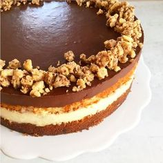 Luksus banankage (kan laves i forvejen) Sweet Recipes, Real Food Recipes, Cake Recipes, Dessert Recipes, Danish Food, Sweets Cake, Chocolate Chip Muffins, Bread Cake, Brownie Cake