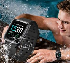 YAMAY Smart Watch for Android and iOS Phone Waterproof, Fitness Tracker Watch with Heart Rate Monitor Step Sleep Tracker, Smartwatch Compatible with iPhone Samsung, Watch for Men Women (Black) watch watch Tracker Fitness, Waterproof Fitness Tracker, Watch For Iphone, Android Watch, Smartwatch, Cluse Watch, Fitness Watches For Men, Smartphone Gps, Ios Phone