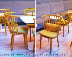 beautiful chair from viking grace Mooncake, Dining Chairs, Furniture, Beautiful, Design, Home Decor, Homemade Home Decor, Home Furnishings