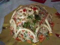 La buona cucina di Katty: Insalata russa .... fatta da me!!!!