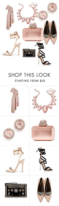 """#lets#go#party#"" by hannazakaria ❤ liked on Polyvore featuring Zimmermann, Thalia Sodi, Dana Rebecca Designs, Jimmy Choo, Gianvito Rossi, FAUSTO PUGLISI and Yves Saint Laurent"