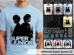 Super Junior T-Shirts, Kaos Super Junior Model Terbaru