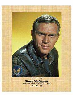 Steve McQueen The Great Escape 8X10 photo