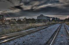 Alton Steel Mill 2, via Flickr.