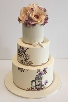 "Faye Cahill Cake Design ""watercolour painting"""
