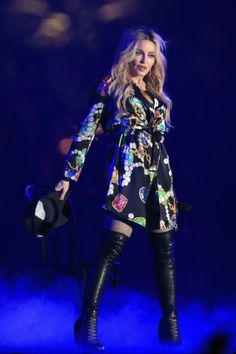 Madonna Taps Gucci, Moschino for Rebel Heart Tour Costumes
