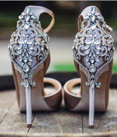 839cc7f037ad Karson shoes by Badgley Mischka - bridal heels - wedding shoes