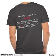 HATERS SHIRT