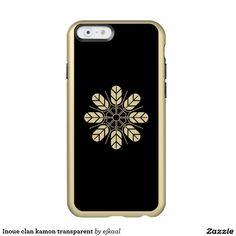 Inoue clan kamon transparent incipio feather® shine iPhone 6 case