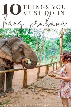 10 THINGS YOU MUST DO IN LUANG PRABANG Laos | Luang Prabang | Southeast Asia | Asia