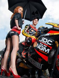 NGM Forward Racing Team - Under the Umbrella