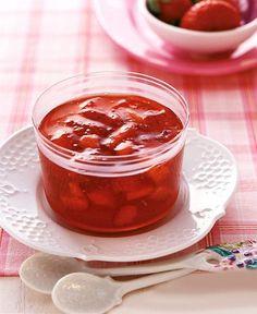Rezept: Erdbeerkonfitüre mit Cidre