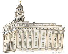 Nauvoo Illinois Mormon LDS Temple 8x10 by ashmaetemples on Etsy, $15.00    Find more LDS inspiration at: www.MormonLink.com