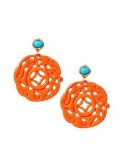 Kenneth Jay Lane Ornate Drop Earrings....just ordered them!!
