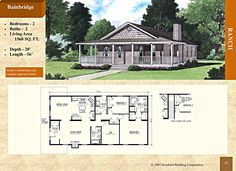 - Stratford Home Center - 2 Bed 2 Bath. Foyer-type entry, island in kitchen, master bedroom bath with shower, double vanity sinks, and corner platform tub with marble surround. Small House Plans, House Floor Plans, Stratford Homes, Modular Floor Plans, Vanity Sink, Sinks, Double Vanity, Foyer, Living Area