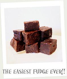 Fox + Fawn: Easiest fudge ever