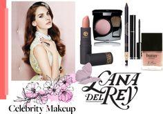 """lana del rey make up''"